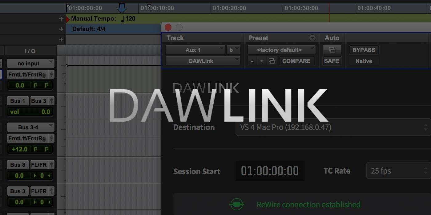 DAWLink Setup Poster