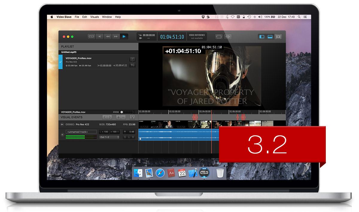 Video Slave 3.2 Release